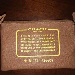 Coach side Pouch